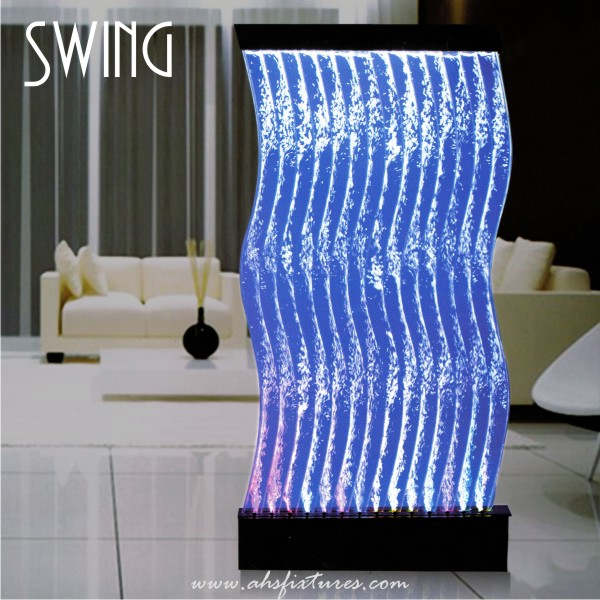 Swing Bubble Water Features Decorative Display Partition