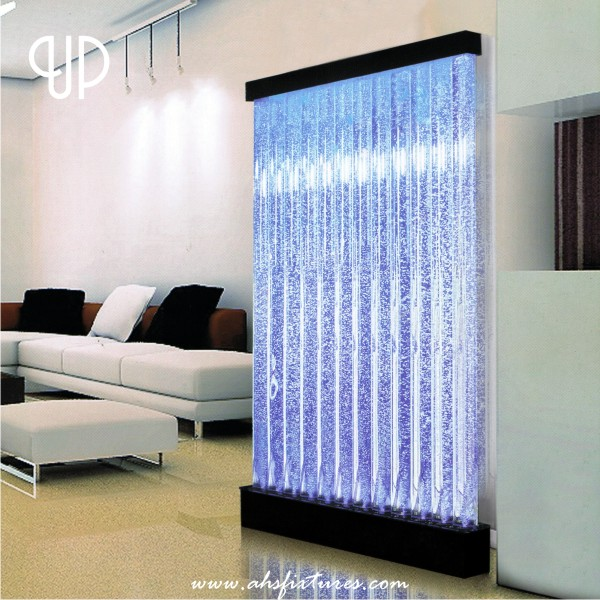 Up Bubble Water Features Decorative Acrylic Display Partition