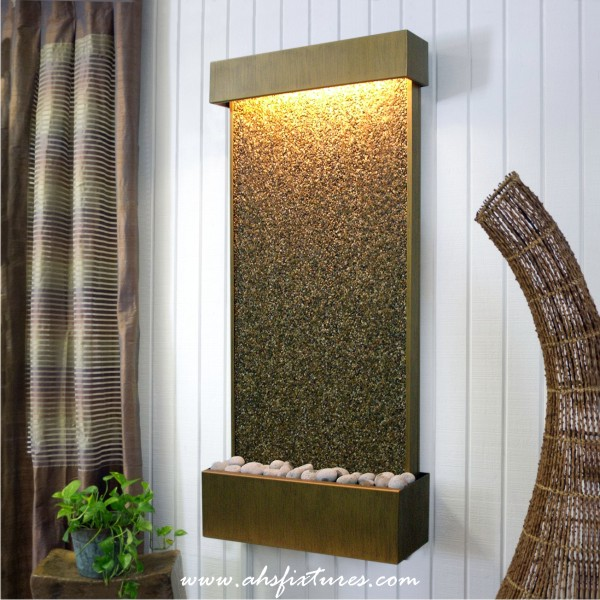 Natural Pebble Stone Wall Fountain Made In Malaysia WFT-1456