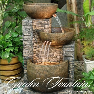 Garden Water Features & Landscape Fountains